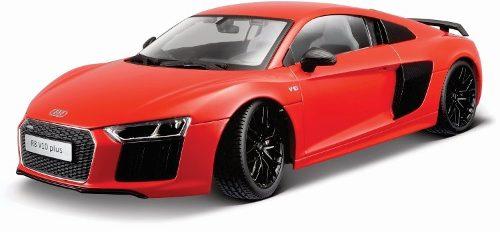 Maisto 1/18 Audi R8 V10 Plus Rojo Diecast Metal / No Burago