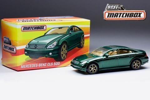Matchbox Mercedes Benz Cls 500