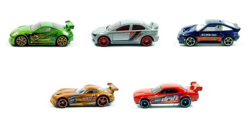 Nightburnerz 5 Pack Hot Wheels  Nissan Dodge Challenger