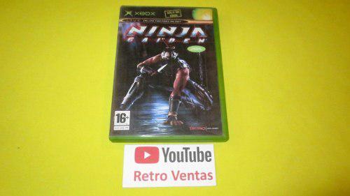 Ninja Gaiden Xbox Clasico **portada Custom**