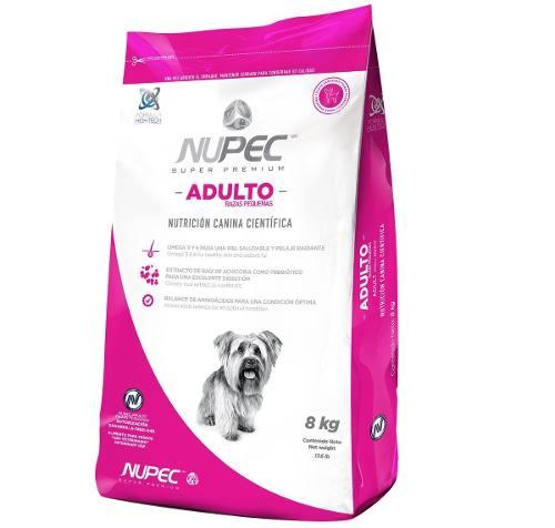 Nupec Adulto Razas Pequeñas 8kg Alimento Premium Para Perro