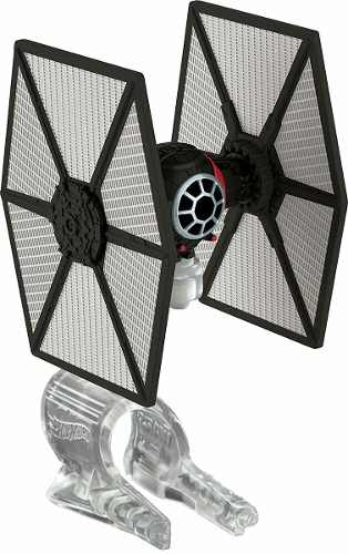 Oferta Nave Star Wars Hot Wheels Tie Fighter First Order *
