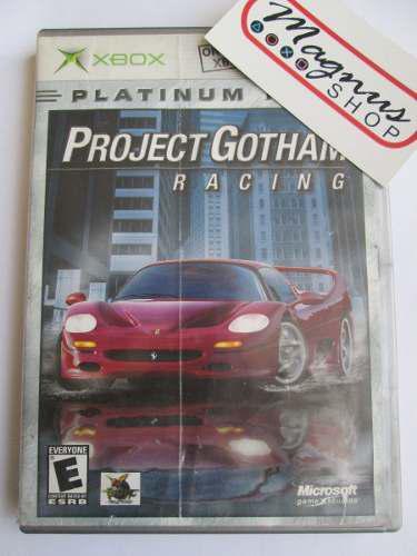 Project Gotham Racing 1 Para Xbox Primera Gen Pgr Carreras