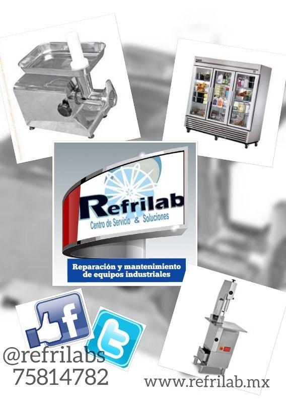 Reparación y mantenimiento de equipos industriales línea