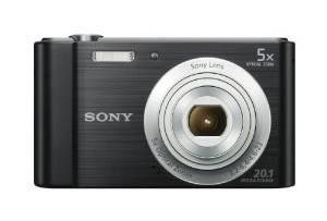 Sony W800 / B 20.1 Mp Cámara Digital (negro)