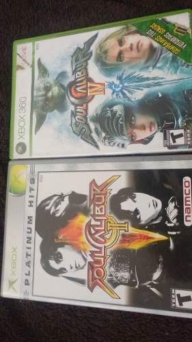 Soul Calibur 2 Y 4 Para Xbox Clasico Y 360