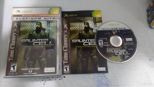 Splinter Cell Steath Action Redefi Completo Para Xbox Normal