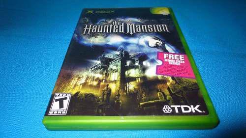 The Haunted Mansion Xbox Clasico *cd En Muy Buen Estado*