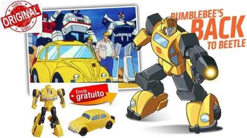 Transformers Bumblebee Energon Igniters 67 Volkswagen Vocho