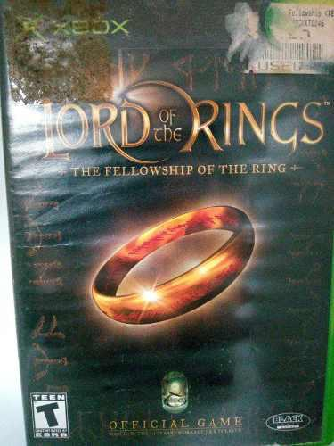 Xbox The Lord Of The Rings. The Fellowship Of The Ring.
