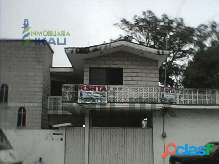 Renta casa 3 recamaras Rosa Maria Tuxpan Veracruz, Rosa