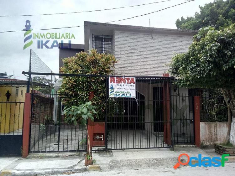 Rento casa 4 rec. amplias Infonavit Tenechaco Tuxpan