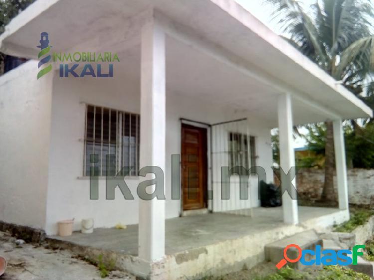 Venta casa 2 recamaras Centro Tuxpan Veracruz, Tuxpan de