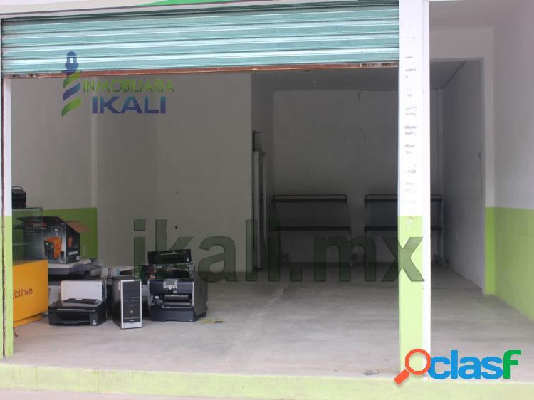 renta local nuevo 45 m² centro de tuxpan tuxpan veracruz,