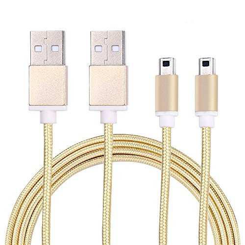 2 Pack Akwox Cable De Carga Usb De Alta Velocidad Trenzado