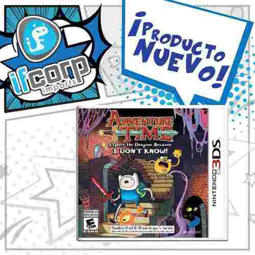 Adventure Time Explore The Dungeon Because I Don't Know! 3ds