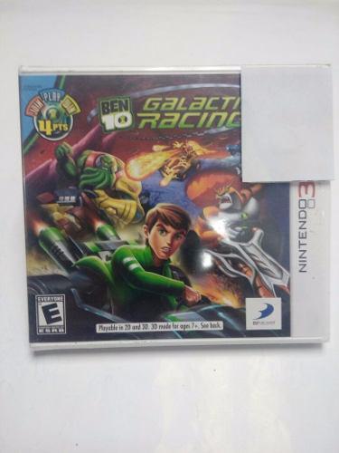 Ben 10 Galactic Racing.-3ds