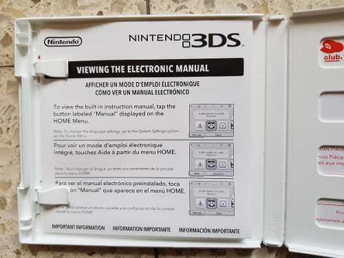 Caja Nintendo 3ds Pokemon Alpha Sapphire
