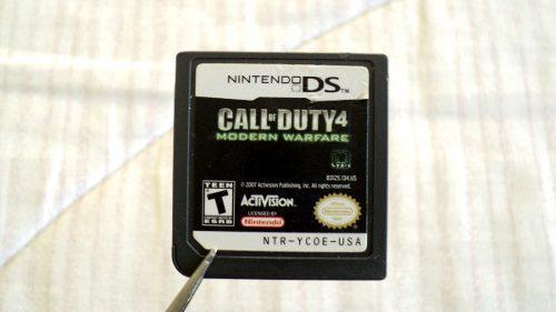Call Of Duty 4 Modern Warfare Para Nintendo Ds 3ds 2007
