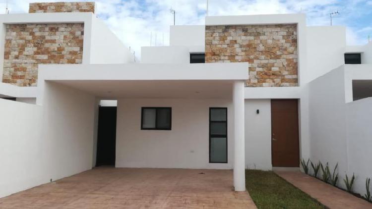 Casa en Renta Equipada 3 recamaras en la Zona de Conkal