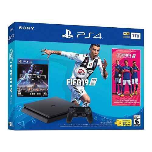 Consola Ps4 1 Tb Con Fifa 19 Playstation Facturamos