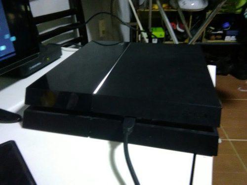 Consola Ps4 Fat De 500gb,disco Duro 1tb Y Palanca