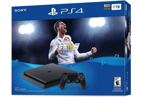 Consola Ps4 Slim 1tb Con Fifa18 + Paquete Playstation Vr