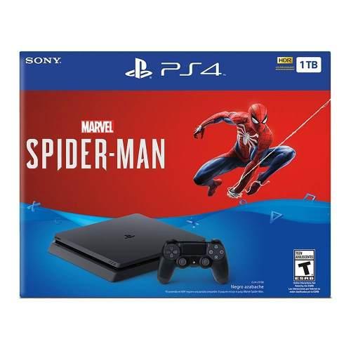 Consola Ps4 Slim 1tb Spider Man Envió Gratis