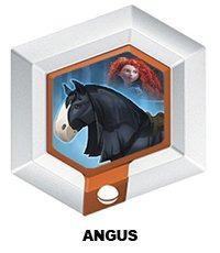 Disney Infinity Series 3 Power Disc Angus El Caballo De Mer