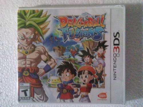 Dragon Ball Fusions 3ds Nuevo Sellado Nintendo Dragonball
