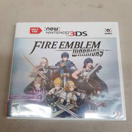 Fire Emblem Warriors Nintendo 3ds Nuevo Sellado Envio Gratis