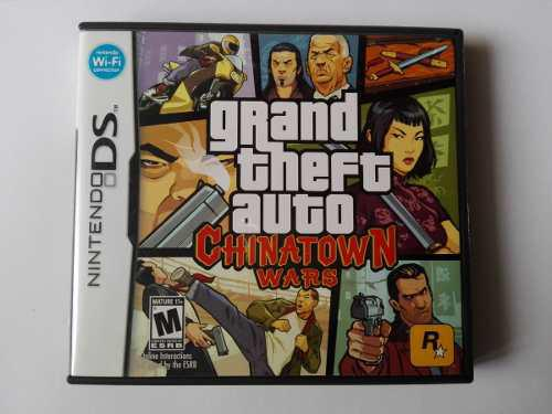 Grand Theft Auto Chinatown Wars Completo Nintendo Ds Y 3ds