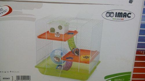 Imac Jaula Criceti 7 45x30x47 Cm Hamster Jerbo Raton Roedor