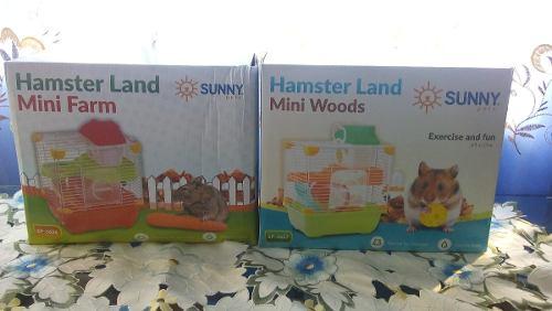 Jaula Hamster Land Adventure 24x19x30cm Raton Hogar
