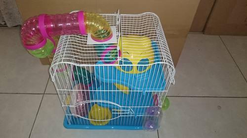Jaula Para Hamster Fresno Mod. 2