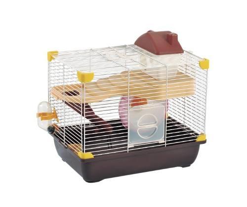 Jaula Plastica Para Hamster 35.5x25.6x33 Varios Colores