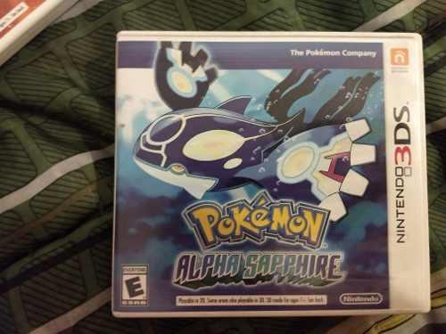 Juego Pokémon Alpha Sapphire Para 3ds