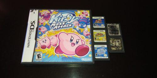 Kirby Mass Atack, Canvas Curse Y Super Star Para Ds, Dsi 3ds