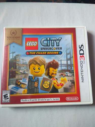 Lego City Undercover Nintendo 3ds 2ds