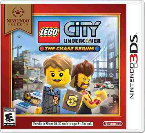 Lego City Undercover The Chase Begins 3ds (en D3 Gamers)