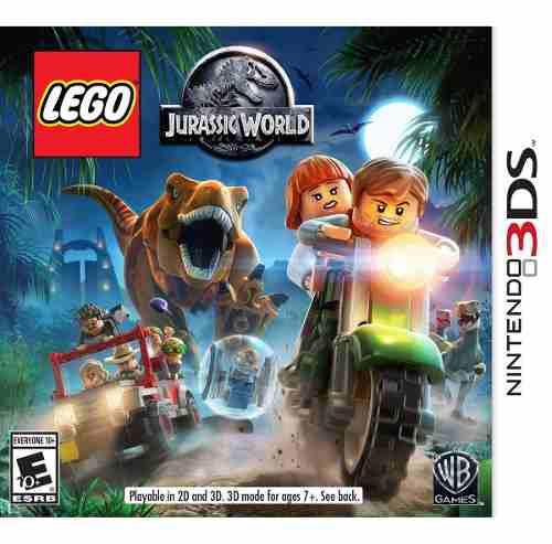 Lego Jurassic World - Nintendo 3ds Nuevo Blakhelmet E