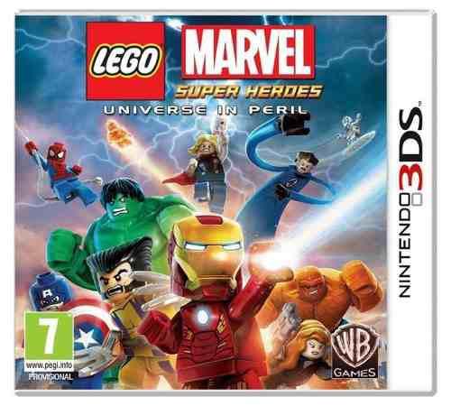 Lego Marvel 3ds Nuevo Y Con Envio Gratis