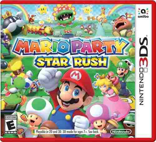 Mario Party Star Rush::.. Para Nintendo 3ds A Meses