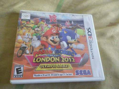 Mario Y Sonic At The London 2012 3ds. Remato