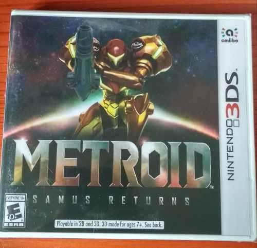 Metroid Samus Returns - Nintendo 3ds Nuevo Y Sellado