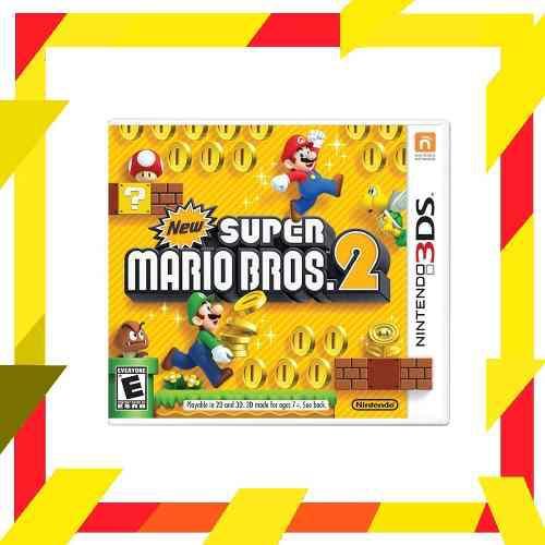 New Super Mario Bros 2 Original Nintendo 3ds | Mod Games
