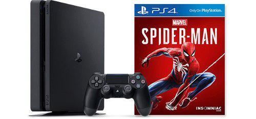 Nuevo Ps4 Slim 1tb Hdr Spiderman Sellado Paquete Bundle