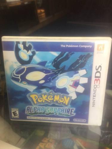 Pokemon Alpha Sapphire 3ds