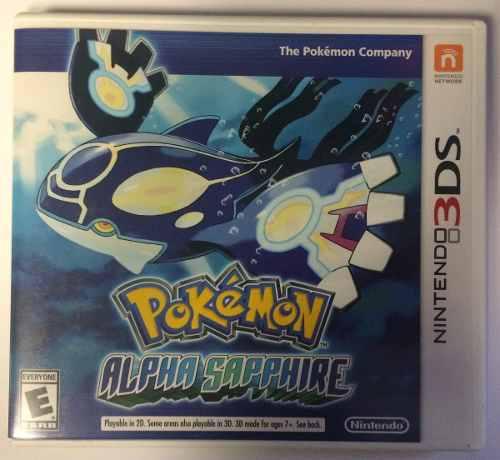 Pokemon Alpha Sapphire 3ds Seminuevo ** Iron Shop **