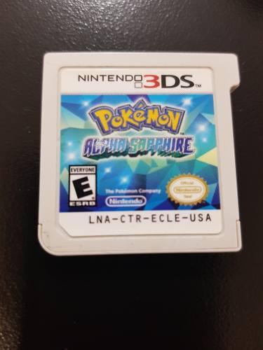 Pokemon Alpha Sapphire Nintendo 3ds Usado Envio Gratis